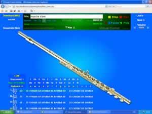 Seruling virtual (Program flute)