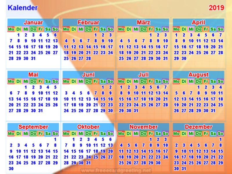 Thai Kalender 2017