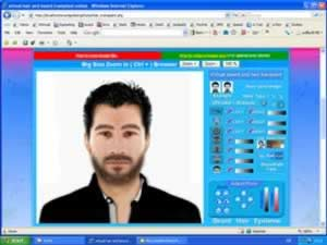 Virtual Beard Hair Transplant Online