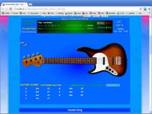 bass guitar online virtual bass guitar. Black Bedroom Furniture Sets. Home Design Ideas
