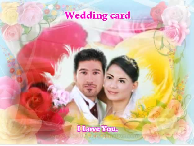 Wedding cards design print online